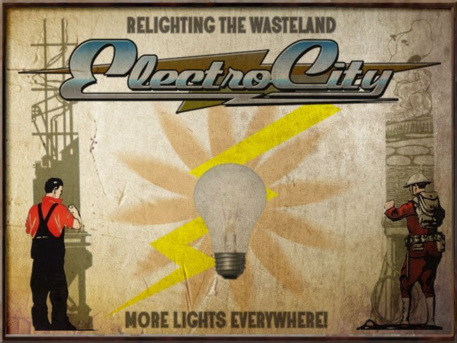 FALLOUT NEW VEGAS : Electro-City : Relighting the Wasteland