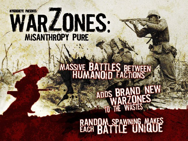 FALLOUT NEW VEGAS : Warzones : Misanthropy Pure