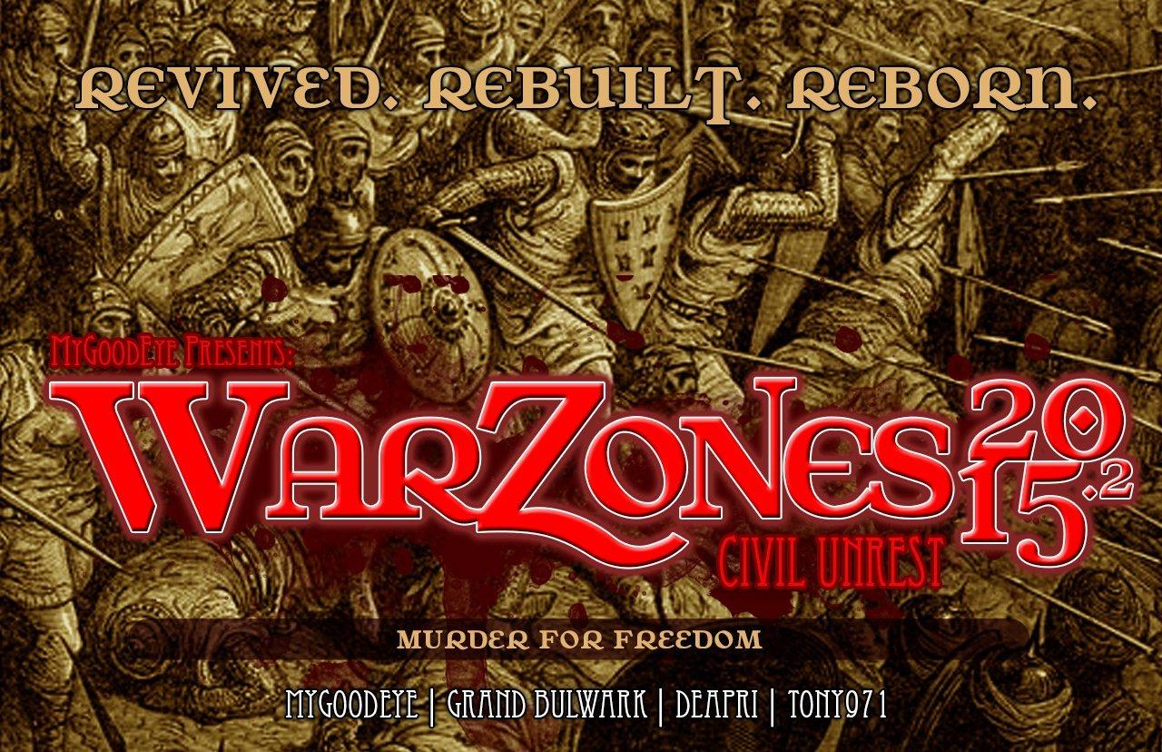 REBORN : Presenting WarZones 2015